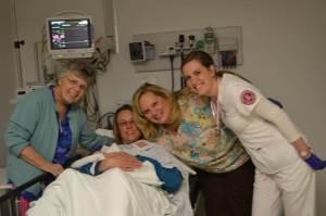 Baby born at VA after Tuesday's I-70 crash