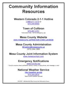 2014 06 05 Collbran Community Resource List MC